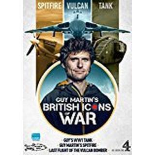 Guy Martin's British Icons of War (Spitfire, Vulcan Bomber & WW1 Tank) [DVD]